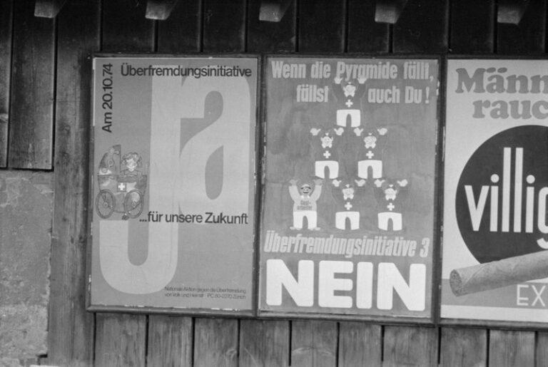 Für ein zeitgemässes Bürgerrecht. 50 Jahre Schwarzenbach-Ära sind genug!